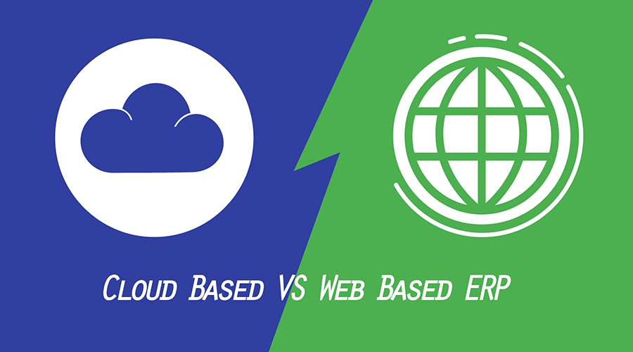 cloud and web based erp