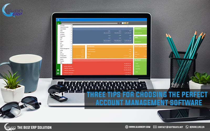 tips for choosing the best accounts management software