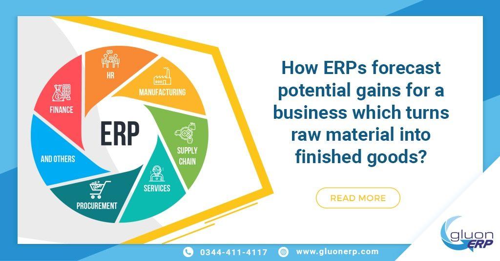 ERPs benefits