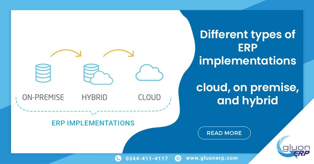 GluonERP Pakistan ERP implementation