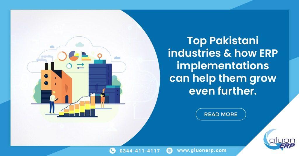 ERP System Implementation Pakistani companies