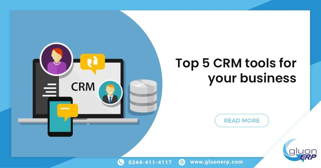 CRM Tool GluonERP Software