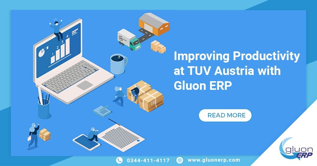 Improving Productivity at TUV Austria with Gluon ERP