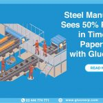 GLUON ERP software for steel manufacturer minimize the use of the extra workforce, unnecessary paperwork, extra time and controls marketing strategies etc.