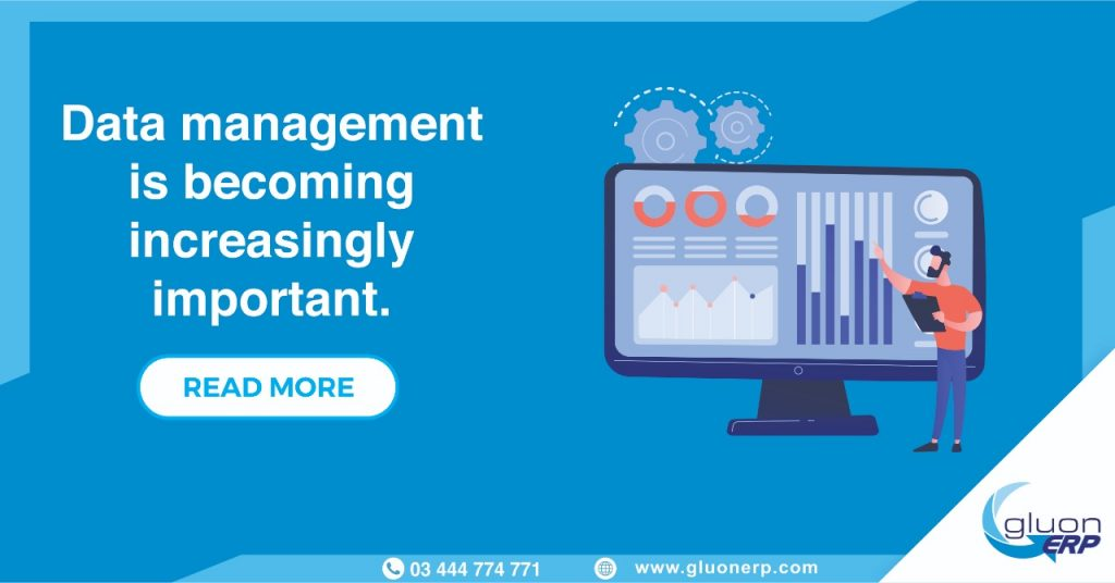 Data Management ERP | GLUON | Importance/Usage | Best erp in Lahore