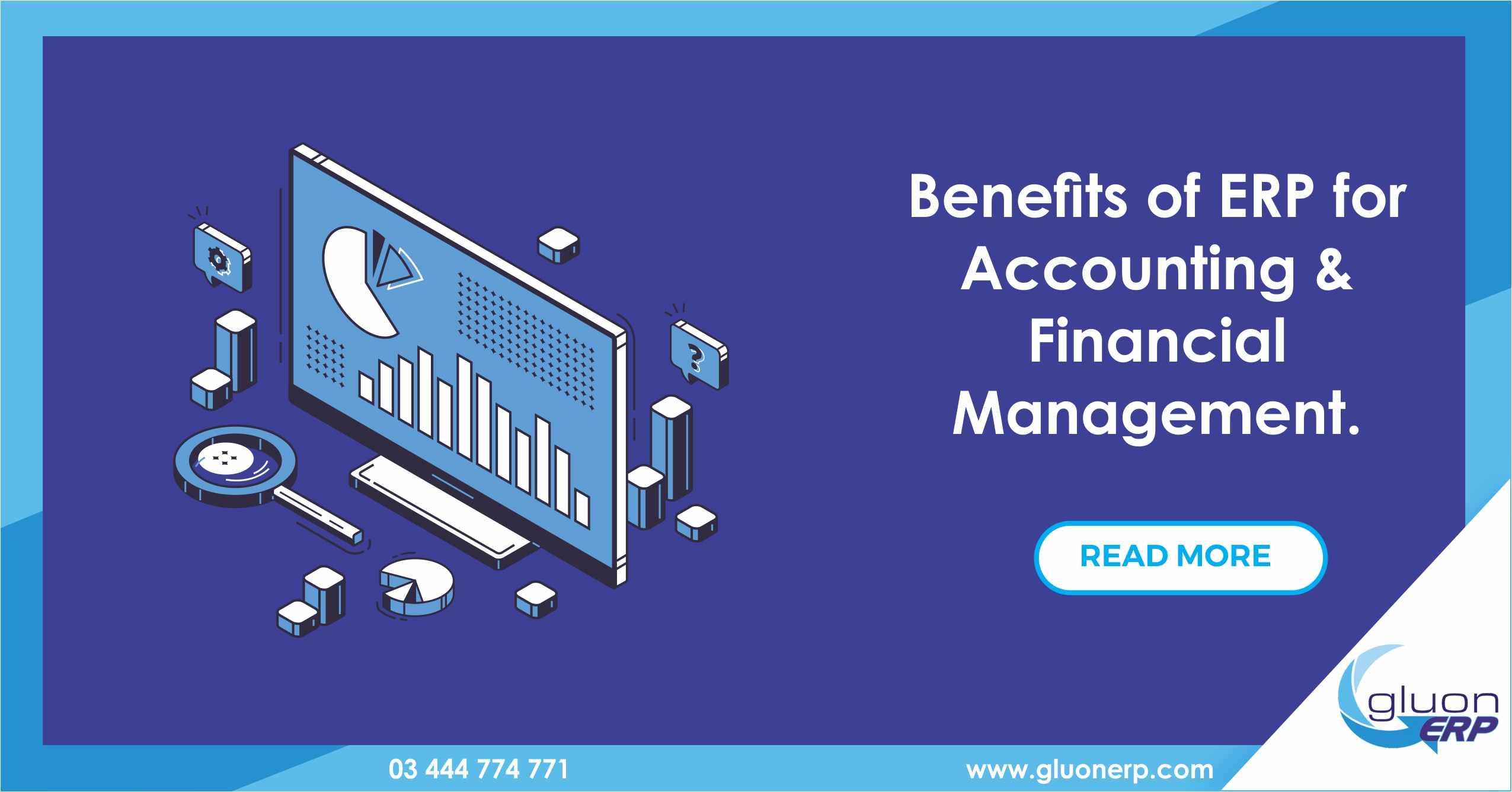 Accounting and Financial Management ERP | GLUON ERP | Benefits