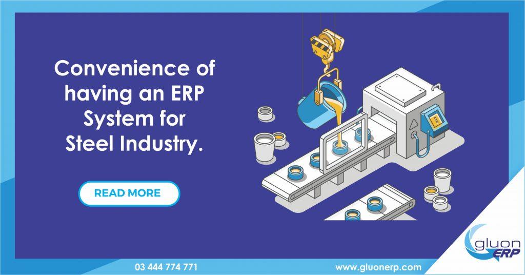 Steel industry ERP | GLUON ERP | Usage/Benefits | Best ERP in Pakistan