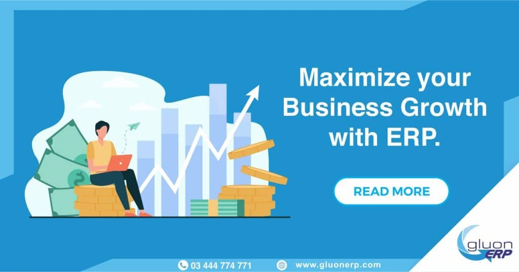 Integrate erp software | GLUON erp | Maximimize Earning | Grow Business