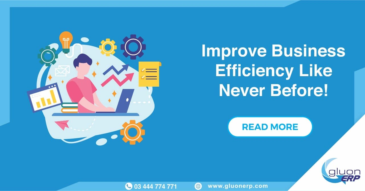Business Forecasting ERP | Gluon ERP | 100% Business Efficiency