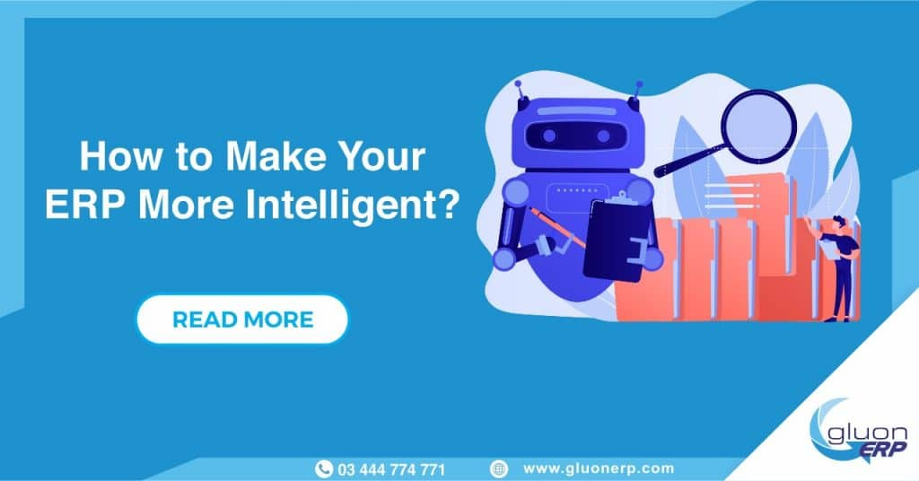 Make Enterprise resource planning system More Intelligent | GLUON ERP
