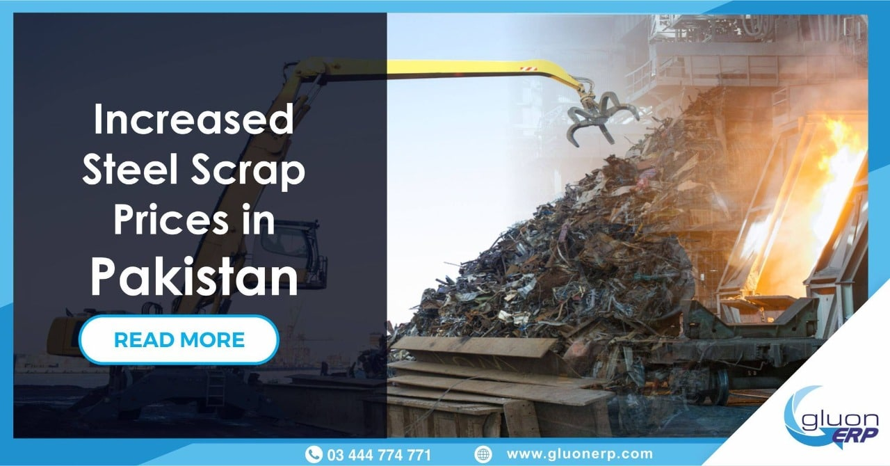 Steel Scrap Prices | Container Shortages & Fuel Upsurge | GluonERP