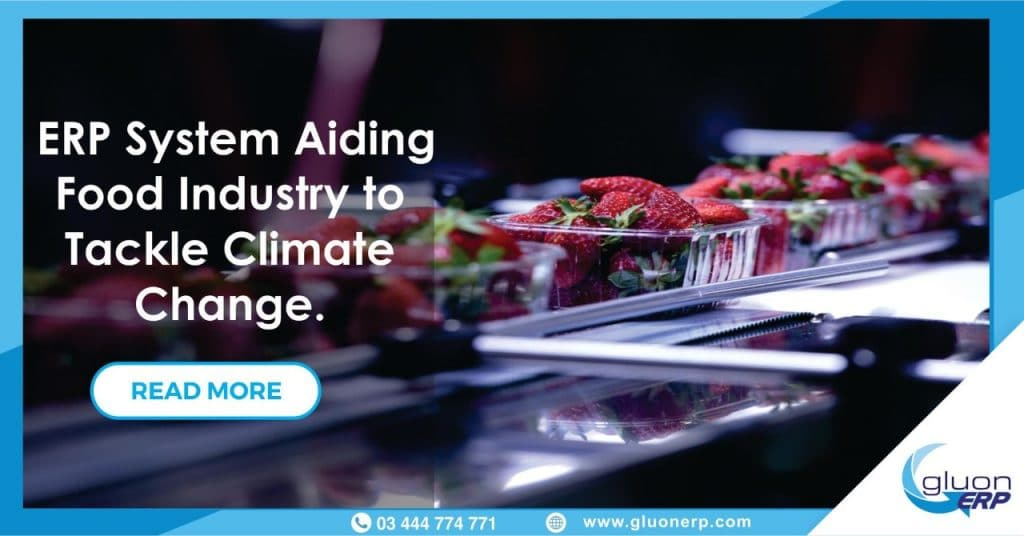 GLUON ERP   Help Food Industry   Tackle   Climate change